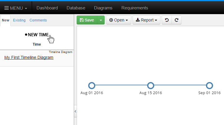 Click New Event