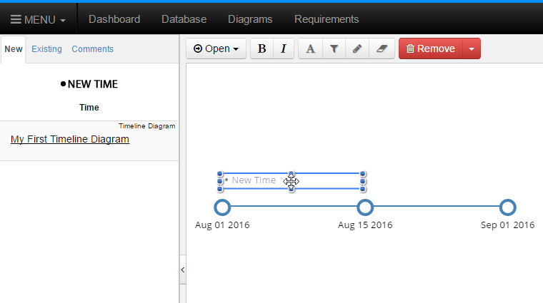 Drop New Event