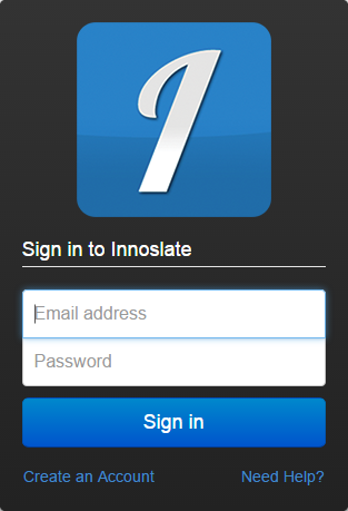 Sign in to Innoslate
