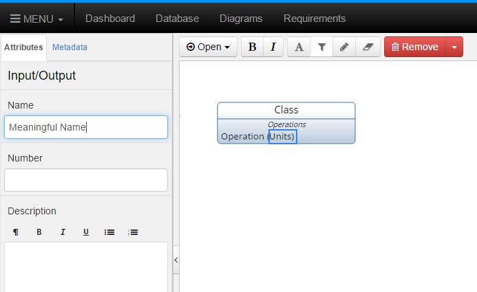 Name New Input Parameter
