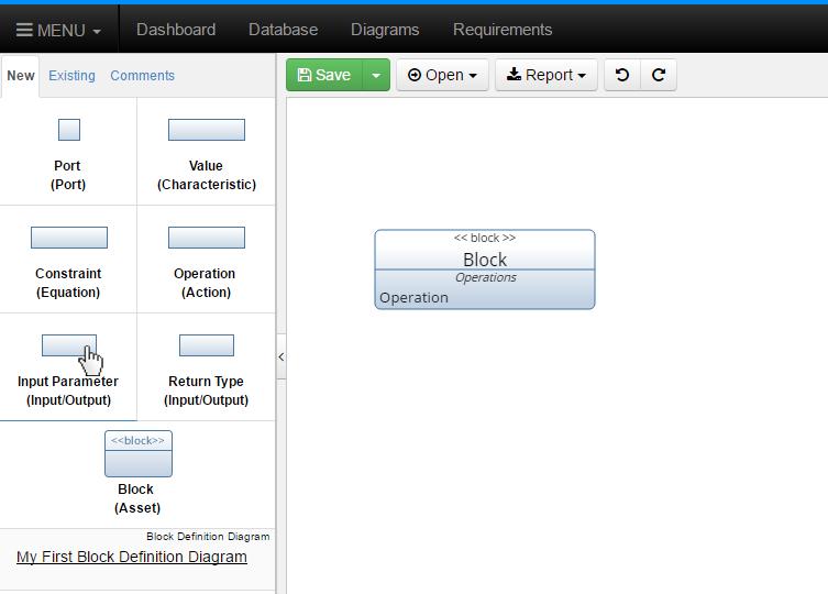 Click New Input Parameter