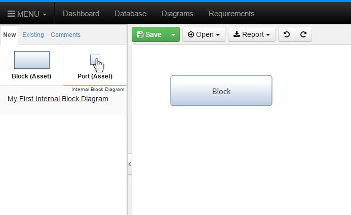 Click New Port
