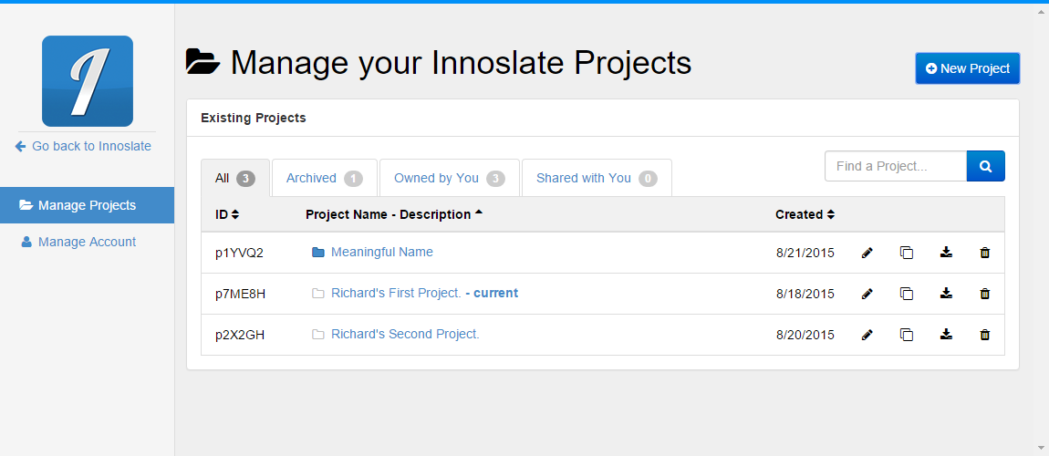 Project Unshared