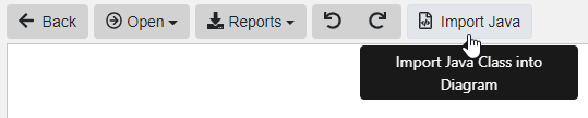 'Import Java' Button